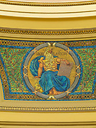 "Mosaic of ""Legislation."" Interior view of the Wisconsin State Capitol Building, Madison, Wisconsin, USA."