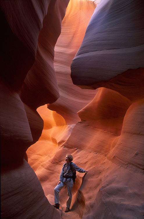 Lower Antelope Canyon .Navajo Reservation