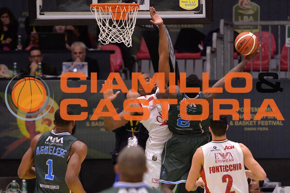 Durand Scott<br /> Olimpia EA7 Emporio Armani Milano vs Enel Brindisi<br /> LegaBasket Final Eight Coppa Italia Poste Mobile 2017<br /> Rimini 16/02/2017<br /> Foto Ciamillo-Castoria/ I.Mancini