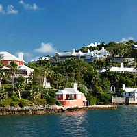 Bermuda. Coastline of Bermuda.