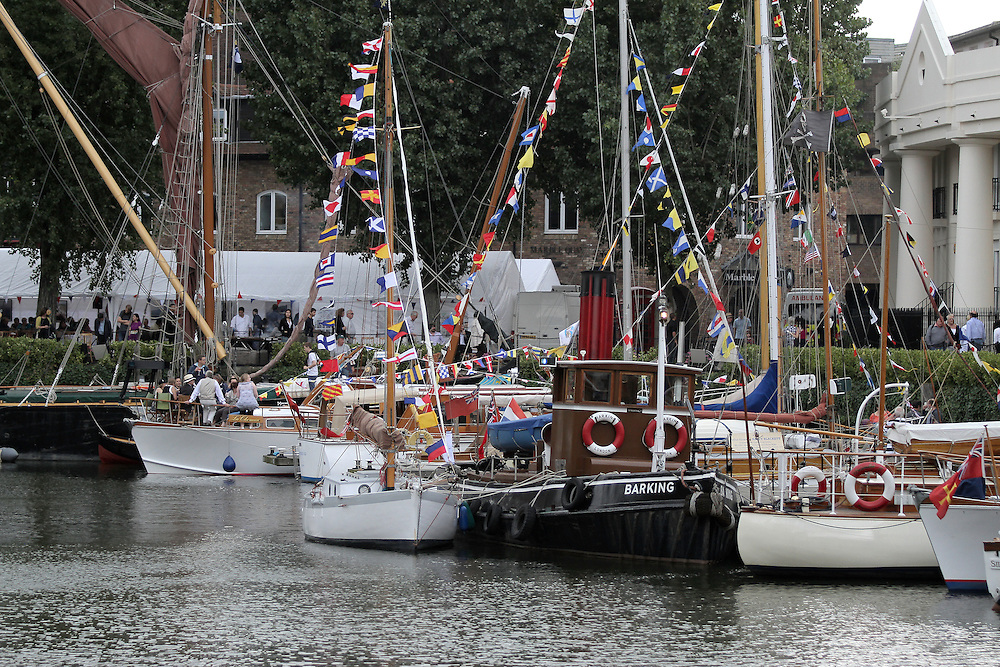 Thames Revival at St Katherine Docks, London