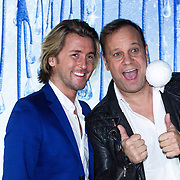 NLD/Aalsmeer/20131206 - Premiere Frozen, Carlo Boszhard en partner Herald Adolfs