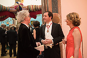 SIR PETER STOTHARD, GEORGE OSBORNE; FRANCES OSBORNE, RA Annual dinner 2018. Piccadilly, 5 June 2018.