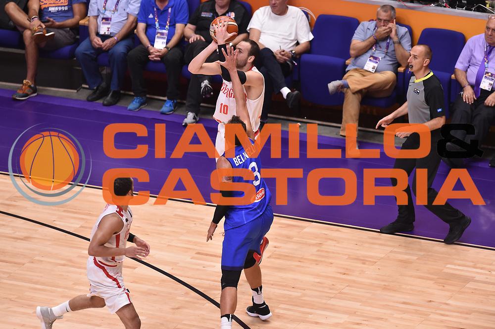 Duda Sanadze<br /> Nazionale Italiana Maschile Senior<br /> Eurobasket 2017 - Group Phase<br /> Georgia  Italia Georgia Italy<br /> FIP 2017<br /> Tel Aviv, 06/09/2017<br /> Foto Ciamillo - Castoria/ GiulioCiamillo