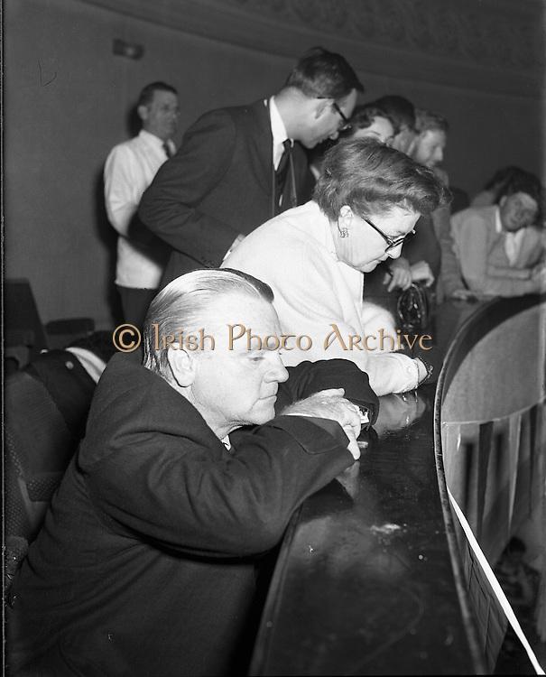 Jimmy Cagney at Gael Linn Ceili.26/10/1958