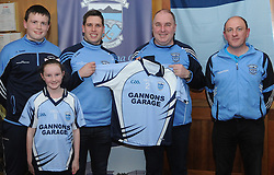 Gannon&rsquo;s Garage belclare sponsored a set of Jersey&rsquo;s to Westport U14 team, from left Ray Grady Captain, Aoife Gannon, Lee Keegan, Paul Gannon and Pat Grady (Manager).<br />