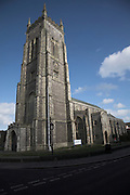 Church with tower, St Peter and St Paul church, Cromer. Norfolk, England
