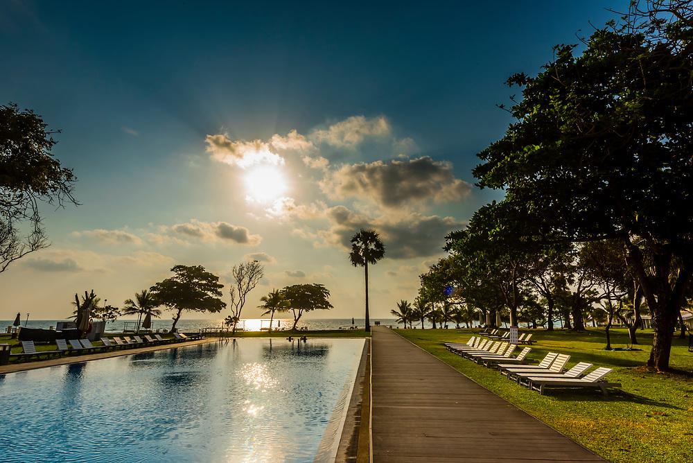 Trinco Blu by Cinnamon beach resort, Upuvali Beach, Trincomalee, Sri Lanka.