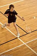 Zawody badmintona dla dzieci Badsport Kids Open Warszawa 18 19 grudnia 2010 Fot Piotr Gesicki