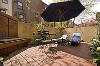 Patio at 118 West 81st St