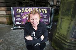 Jason Byrne, the Irish comedian born in Ballinteer, Dublin, is playing at the Fringe, Edinburgh.