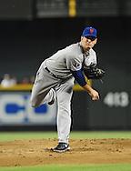 Jul. 26, 2012; Phoenix, AZ, USA; New York Mets pitcher Matt Harvey (33) pitches during the game against the Arizona Diamondbacks at Chase Field. The Mets defeated the Diamondbacks 3-1. Mandatory Credit: Jennifer Stewart-US PRESSWIRE
