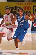 DESCRIZIONE : Bormio Torneo Internazionale Gianatti Italia Austria <br /> GIOCATORE : Marco Belinelli<br /> SQUADRA : Nazionale Italia Uomini <br /> EVENTO : Bormio Torneo Internazionale Gianatti <br /> GARA : Italia Austria <br /> DATA : 31/07/2007 <br /> CATEGORIA : Palleggio<br /> SPORT : Pallacanestro <br /> AUTORE : Agenzia Ciamillo-Castoria/G.Cottini<br /> Galleria : Fip Nazionali 2007<br /> Fotonotizia : Bormio Torneo Internazionale Gianatti Italia Austria<br /> Predefinita :