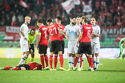 The 2020 UEFA European Championships group G qualifying match between Slovenia and Austria at SRC Stozice on October 13, 2019 in Ljubljana, Slovenia. Photo by Peter Podobnik / Sportida