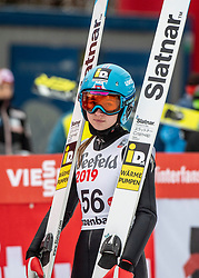 03.02.2019, Energie AG Skisprung Arena, Hinzenbach, AUT, FIS Weltcup Ski Sprung, Damen, im Bild Lidiia Iakovleva (RUS) // Lidiia Iakovleva (RUS) during the woman's Jump of FIS Ski Jumping World Cup at the Energie AG Skisprung Arena in Hinzenbach, Austria on 2019/02/03. EXPA Pictures © 2019, PhotoCredit: EXPA/ Reinhard Eisenbauer