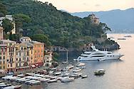 Yacht Harbor,Portofino,Genoa Province,Italian Riviera,Italy