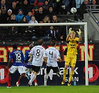 Tippeligaen Rosenborg - Vålerenga 25 april  2011<br /> Lerkendal Stadion, Trondheim<br /> <br /> Rosenborgs reservekeeper Erik Mellevold Bråthen kom inn i 2.omgang og gjorde en god jobb<br /> <br /> <br /> Foto : Arve Johnsen, Digitalsport