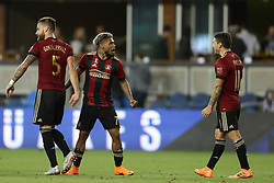 September 19, 2018 - San Jose, California, United States - San Jose, CA - Wednesday September 19, 2018: Josef Martinez during a Major League Soccer (MLS) match between the San Jose Earthquakes and Atlanta United FC at Avaya Stadium. (Credit Image: © Bob Drebin/ISIPhotos via ZUMA Wire)