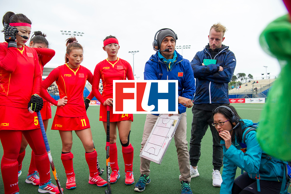 AUCKLAND - Sentinel Hockey World League final women<br /> Match id 10294<br /> 04 Argentina v China.<br /> Foto: Jamilon M&Uuml;LDERS coach China.<br /> WORLDSPORTPICS COPYRIGHT FRANK UIJLENBROEK