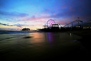 General view of the the Santa Monica Pier as seen on Wednesday, April 11, 2012 in Santa Monica, CA. Photo by Joe Kohen for The Daily.