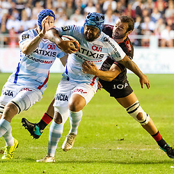 Ole Avei of Racing 92 during Top 14 match between Toulon and Racing 92 on August 25, 2018 in Toulon, France. (Photo by Henri/Icon Sport)