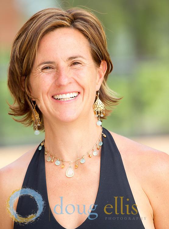 Anusara Yogini Jeanie Manchester at Hanuman Yoga Festival, Boulder CO.