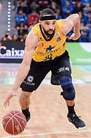 Iberostar Tenerife's David White during Quarter Finals match of 2017 King's Cup at Fernando Buesa Arena in Vitoria, Spain. February 16, 2017. (ALTERPHOTOS/BorjaB.Hojas)