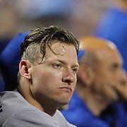 Josh Donaldson, Toronto Blue Jays, during the New York Mets Vs Toronto Blue Jays MLB regular season baseball game at Citi Field, Queens, New York. USA. 15th June 2015. Photo Tim Clayton