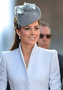 KATE & Prince William Attend Easter Church Service, Sydney2