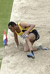 09-07-2006 ATLETIEK: NK BAAN: AMSTERDAM<br /> Rogier van den Berg<br /> ©2006-WWW.FOTOHOOGENDOORN.NL