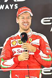 3. Platz Sebastian Vettel (GER#5), Scuderia Ferrari beim Rennen im Rahmen des Grand Prix von Abu Dhabi auf dem Yas Marina Circuit / 271116<br /> <br /> ***Abu Dhabi Formula One Grand Prix on November 27th, 2016 in Abu Dhabi, United Arab Emirates - Race Day ***