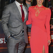 Mark Ebulue and Elysia Wren Arrives at Fast and Furious Live - VIP performance at O2 Arena on 19 January 2018, London, UK.