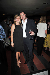 MATT & ANNA UNDERWOOD at a party following a gala evening of Daniela Lavender's one woman show 'A Woman Alone'  The party was held at Blakes Hotel, Roland Gardens, London SW7 on 7th April 2011.