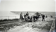family on a trip along the coast 1920s