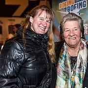 NLD/Rijswijk/20170123 - Premiere Boeing Boeing, Sjoukje Dijkstra en dochter Katja