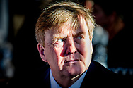 8-11-2018 CULEMBORG - King Willem-Alexander visits Jobhulp. The foundation supports people who have lost their jobs. copyright robin utrecht