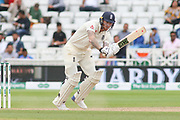 Ben Stokes of England plays a lovely shot off his pads during the 3rd International Test Match 2018 match between England and India at Trent Bridge, West Bridgford, United Kingdon on 21 August 2018.