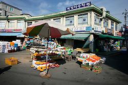 SOUTH KOREA MASAN 28OCT07 - Fruit market in the port city of Masan, south Korea...jre/Photo by Jiri Rezac..© Jiri Rezac 2007..Contact: +44 (0) 7050 110 417.Mobile:  +44 (0) 7801 337 683.Office:  +44 (0) 20 8968 9635..Email:   jiri@jirirezac.com.Web:    www.jirirezac.com..© All images Jiri Rezac 2007 - All rights reserved.