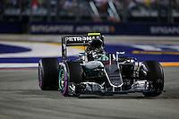 Singapore - 18.09.2016 - Formula 1 Gran Premio di Singapore - Nella foto: Nico Rosberg  - Mercedes   W07 - Formula 1