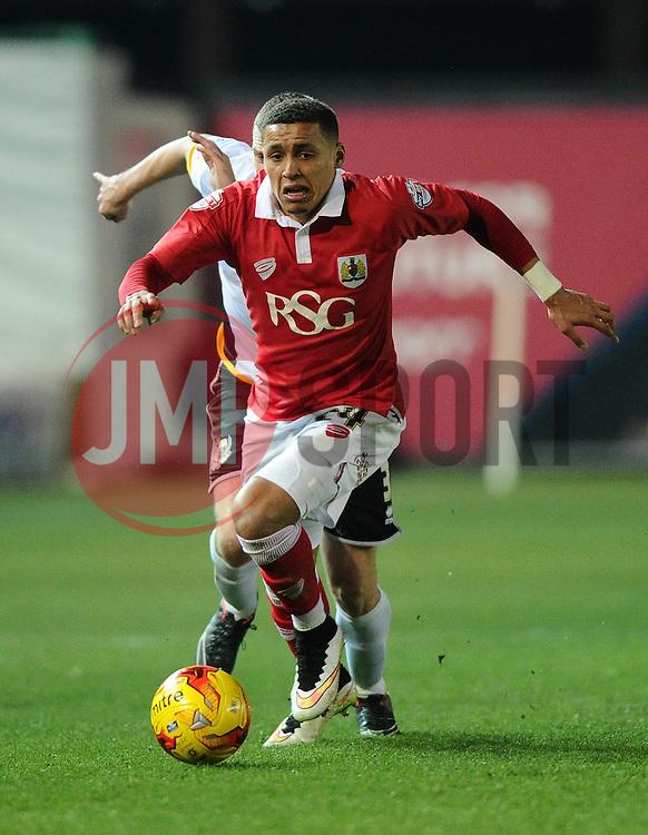 Bristol City's James Tavernier  - Photo mandatory by-line: Joe Meredith/JMP - Mobile: 07966 386802 - 10/02/2015 - SPORT - Football - Bristol - Ashton Gate - Bristol City v Port Vale - Sky Bet League One