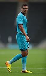 Tottenham's Jake Livermore .Photo mandatory by-line: Nigel Pitts-Drake/JMP  - Tel: Mobile:07966 386802 31/07/2013 - MK Dons v  Tottenham XI  - SPORT - FOOTBALL - pre-season - Milton Keynes - Stadium MK