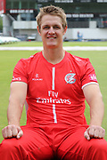 Joe Mennie during the Lancashire County Cricket Club T20 Media Day at the Emirates, Old Trafford, Manchester, United Kingdom on 1 June 2018. Picture by George Franks.