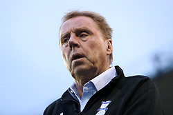 Birmingham City manager Harry Redknapp during the Carabao Cup, Second Round match at St Andrew's, Birmingham.