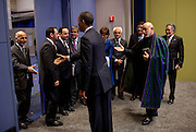 20.MAY.2012. CHICAGO<br /> <br /> PRESIDENT HAMID KARZAI OF AFGHANISTAN PRESENTS MEMBERS OF THE AFGHAN DELEGATION TO PRESIDENT BARACK OBAMA BEFORE THEIR BILATERAL MEETING DURING THE NATO SUMMIT IN CHICAGO, ILL., MAY 20, 2012  <br /> <br /> BYLINE: EDBIMAGEARCHIVE.CO.UK<br /> <br /> *THIS IMAGE IS STRICTLY FOR UK NEWSPAPERS AND MAGAZINES ONLY*<br /> *FOR WORLD WIDE SALES AND WEB USE PLEASE CONTACT EDBIMAGEARCHIVE - 0208 954 5968*