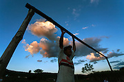 Esmeraldas_MG, 02 de Maio de 2010.<br /> <br /> Globo Rural / Futebol na Roca.<br /> <br /> Campo de futebol na comunidade rural da Laginha.<br /> <br /> Foto: JOAO MARCOS ROSA / NITRO