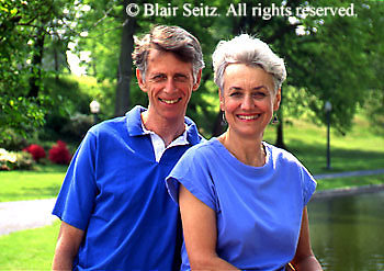 Active Aging Senior Citizens, Retired, Activities, Elderly Couple Outdoor Recreation, Staying Fit, Enjoying Nature, Portrait