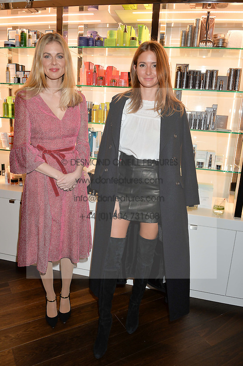 Left to right, DONNA AIR and MILLIE MACKINTOSH at the launch of the Space NK Global Flagship store at 285-287 Regent Street, London on 10th November 2016.