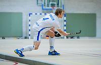 DELFT -  Jip Janssen (Kampong) tijdens de zaalhockey hoofdklasse competitiewedstrijd HDM-KAMPONG (7-8). COPYRIGHT KOEN SUYK