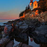 Bass Harbor Lighthouse 6:48 AM