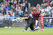Leicestershire Foxes Colin Ackermann (Captain)  during the Vitality T20 Blast North Group match between Lancashire Lightning and Leicestershire Foxes at the Emirates, Old Trafford, Manchester, United Kingdom on 30 August 2019.
